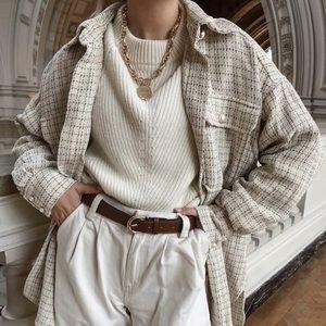 !Soon IN! Lolli Tweed Designer Inspired Jacket Top